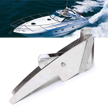 Boat Anchor Hinged Bow Roller,Stainless Steel Hinged Self-Launching Bow Anchor Roller 415Mm