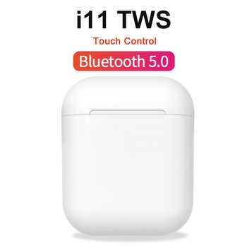 i11 TWS Wireless Headphones Mini Bluetooth 5.0 Earphones Touch Control Stereo Earbuds Headset for xiaomi huawei Smart Phone - DISCOUNT ITEM  30% OFF All Category