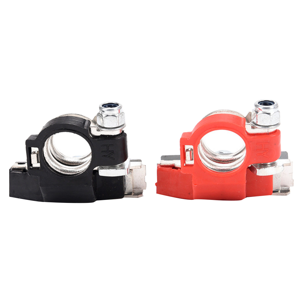 Universal Negative Positive Auto Battery Cable Terminal Top Post For Cars
