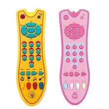 Детские ТВ дистанционного Управление игрушка розовый/желтый