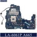 KEFU LA-6061P материнская плата для ноутбука Toshiba Satellite A665 A660 оригинальная материнская плата