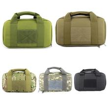 Storage Bag Tactical Single Pistol Case Military Hand Gun Rug Outdoor Soft Carrying