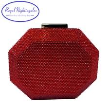 Royal Nightingales bolso de mano de mujer de cristal bolsos de mensajero Mini Señora De noche bolso de hombro chica marca bandolera