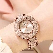 2020 GEDI New Luxury Watch Women Full Diamond Brace