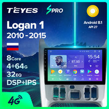 Teyes Spro Voor Renault Logan Ik Sandero Lada Lergus Dacia Auto Radio Multimedia Video Player Navigatie Gps Android 8.1 2 din Dvd(China)