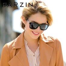 PARZIN الاستقطاب النظارات الشمسية خمر النساء الموضة الفاخرة ماركة القيادة نظارات شمسية الرجال الرجعية مربع UV400 نظارات Gafas دي سول