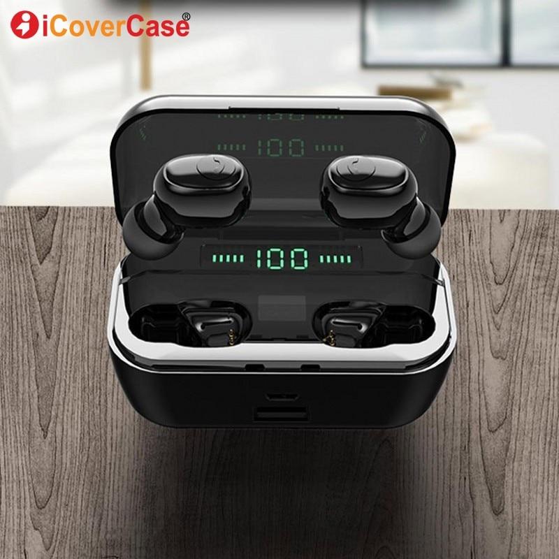 Fones De Ouvido Bluetooth Para Samsung Galaxy A3 A5 A7 A6 A8 A9 J3 J5 J7 J4 J6 J8 2018 fone de Ouvido Sem Fio earbud com Caixa De Carregamento + Microfone