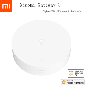 Image 1 - Xiaomi Mijia Multi Mode Smart Gateway Voice Remote Control Automation work with ZigBee 3.0 WIFI Bluetooth Mesh Smart Devices