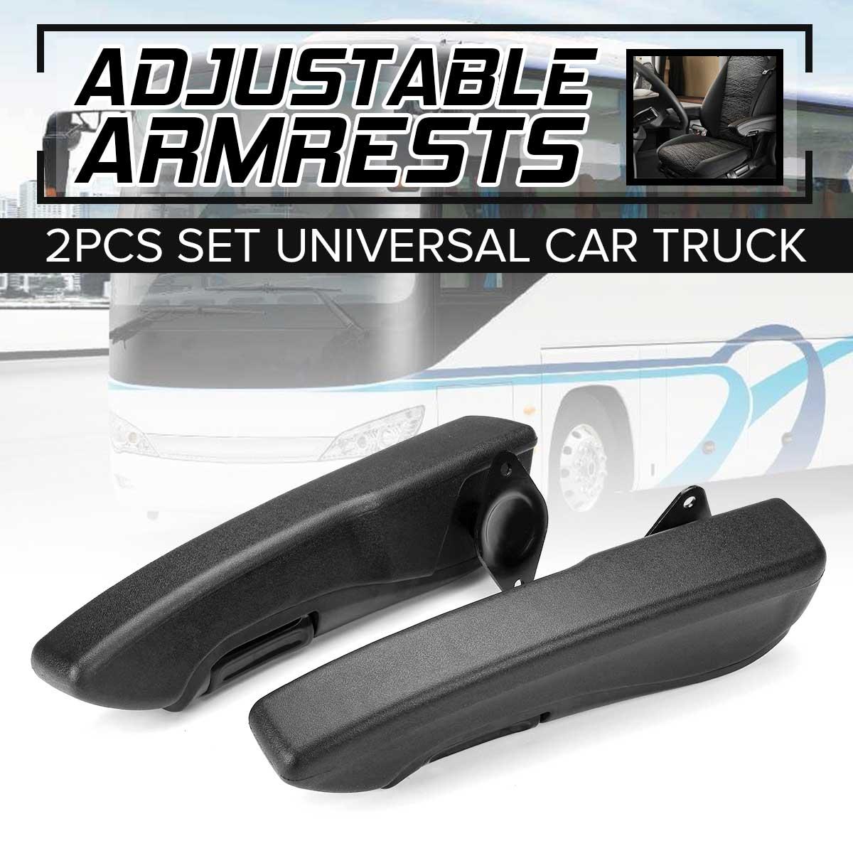 Pair Universal Car Truck Adjustable Seat Armrest Hand Holder For RV Caravan Trailer Boat