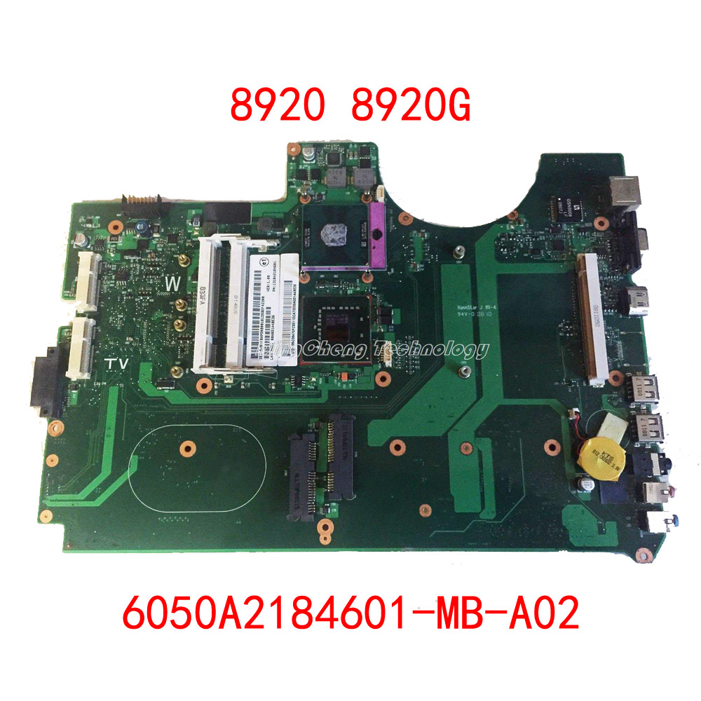 HOLYTIME Laptop Motherboard For Acer 8920 8920g 6050A2184601-MB-A02 MB.AP50B.001 DDR2 100% Fully Tested