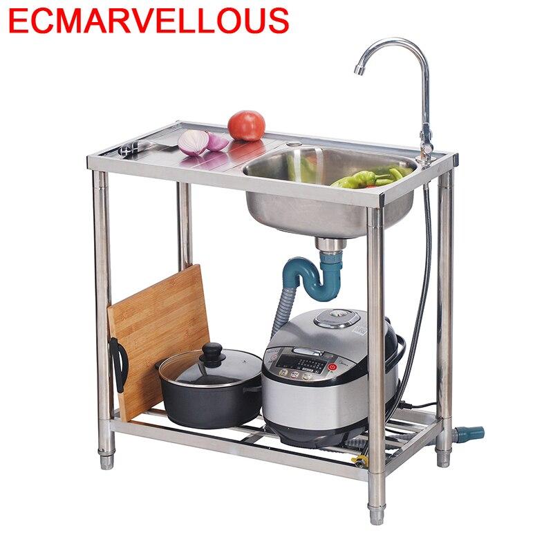 De Portable Zlewozmywak Umywalka Faucet Cocina Integral Evier Keuken Gootsteen Cuba Pia Cozinha Fregadero Lavabo Kitchen Sink