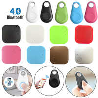 Mini GPS Tracker Waterproof Bluetooth ABS Tracer Pet Dog Cat Wallet Bag Kids Anti-Lost Trackers Finder Equipment