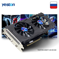Yeston GeForce GTX 1050Ti GPU 4GB GDDR5 128 bit Gaming Desktop computer PC support Video Graphics Cards Ti