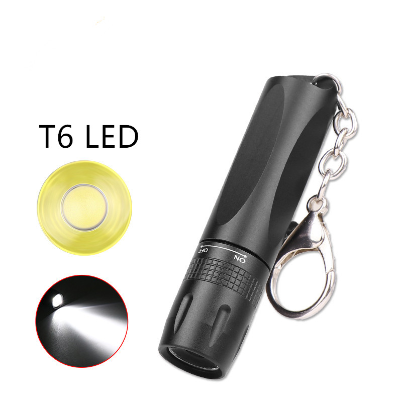 MINI Super Bright LED Flashlight Use T6 Lamp Bead Waterproof LED Torch Powered By AA Or 14500 Battery Suitable For Outdoor