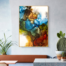RELIABLI ART Abstract Posters And Prints Canvas Painting Wall Art For Living Room Decoration Colorful Pictures For Home NO FRAME modern abstract oil painting posters and prints wall art canvas painting colorful rhythm pictures for living room decor no frame
