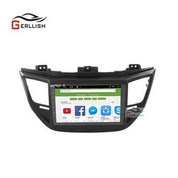 Android car dvd player audio radio stereo for hyundai tucson IX35 2015 2016 2017 multimedia gps navigation image