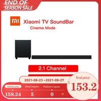 Xiaomi-Barra de sonido Mi TV para cine en casa, 100W, Bluetooth, Compatible con 5,0 SPDIF, altavoz óptico con Subwoofer