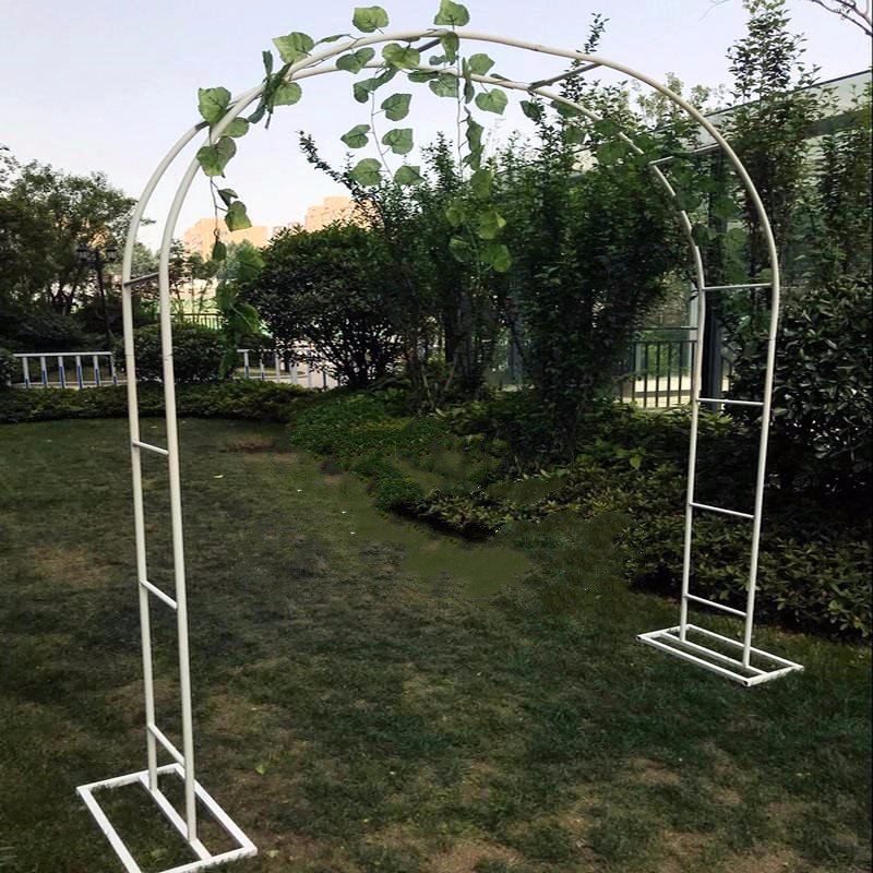 Arbor Garden Chinese Rose Bracket Clematis Lotus Green Luo Botany Frame Outdoors Flower Gate Courtyard Courtyard Decorate