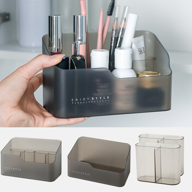 Multi-functional Skin Care Products Remote Control Cosmetics Jewelry Storage Box Home Make Up Cosmetics Organizer Storage Box