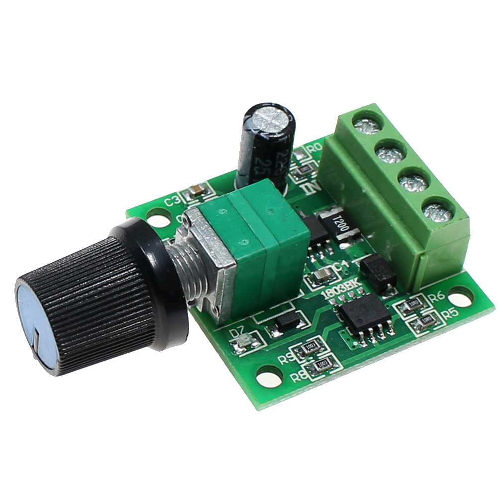Speed Controller Switch Fan Parts Replacement PWM Governor Motor Module Regulator Power Indicator Low Voltage DC Adjustable