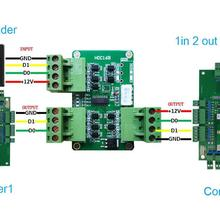 Converter Access-Control-System Wg26--Wg80 Wiegand for 2in 1out 1in 2out Format-Suit