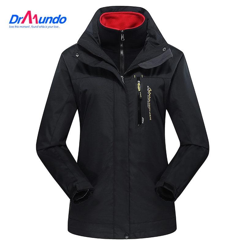 Women ski jacket  Mountain Hiking Jacket Waterproo Thermal Plus Size Fleece Outdoor Snow Camping  Jacket Windproof Coat