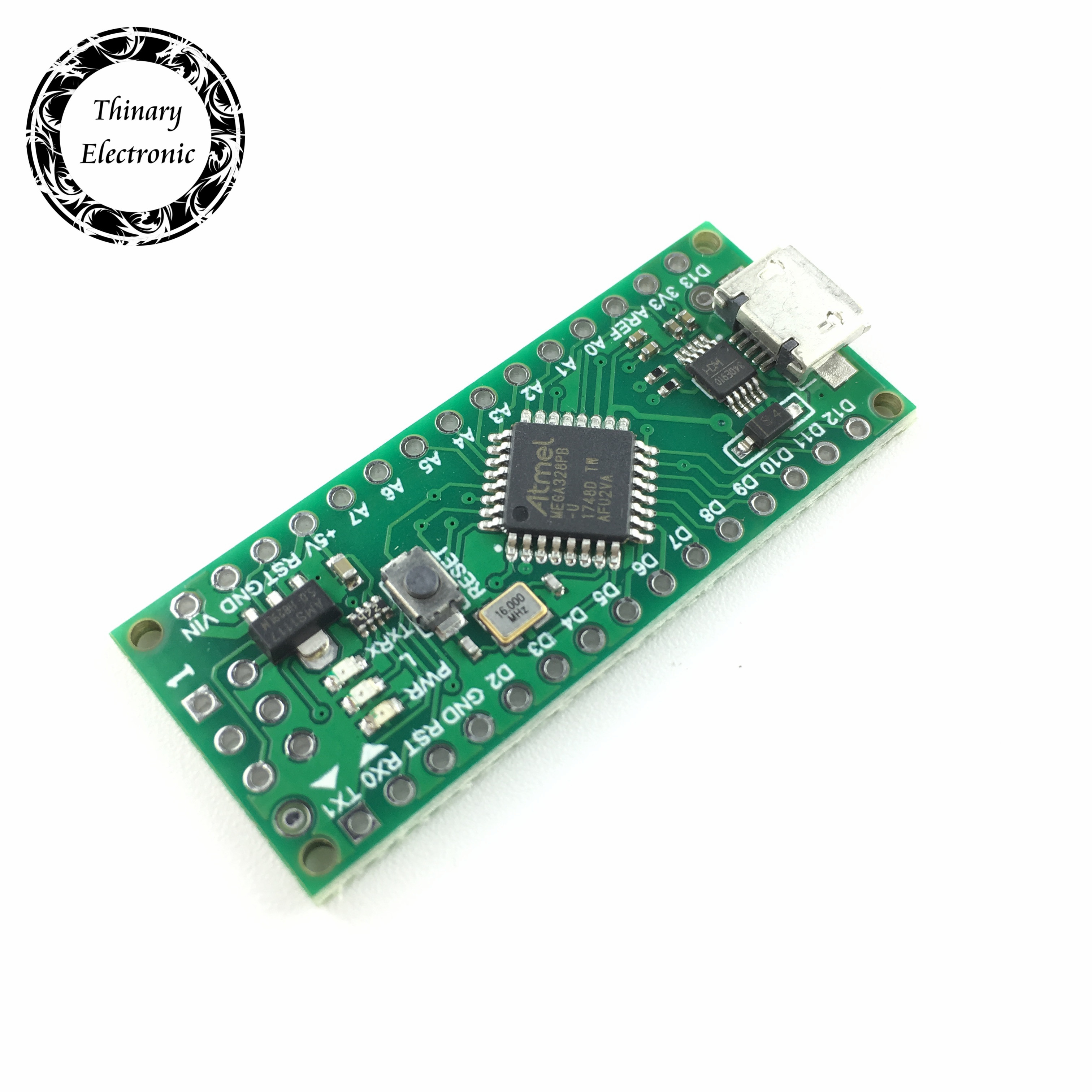 Image 4 - 100pcs Nano 3.0 controller compatible with for arduino compatible nano Atmega328 Series CH340 USB driver NO CABLE Atmega328PB-in Integrated Circuits from Electronic Components & Supplies