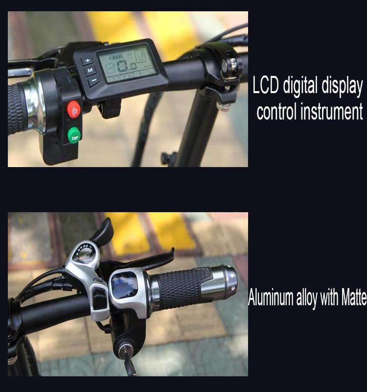 S9F China manufacturer 20 inch e bike 48v 1000w Bafang Motor fatbike 14AH Sam sung battery folding electric bike 12