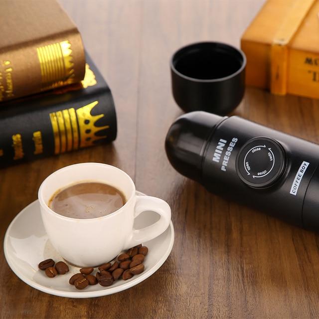 Coffee Boy Brand portable coffee maker mini espresso minipresses espresso machine nanopresso The same as wacaco minipresso 1