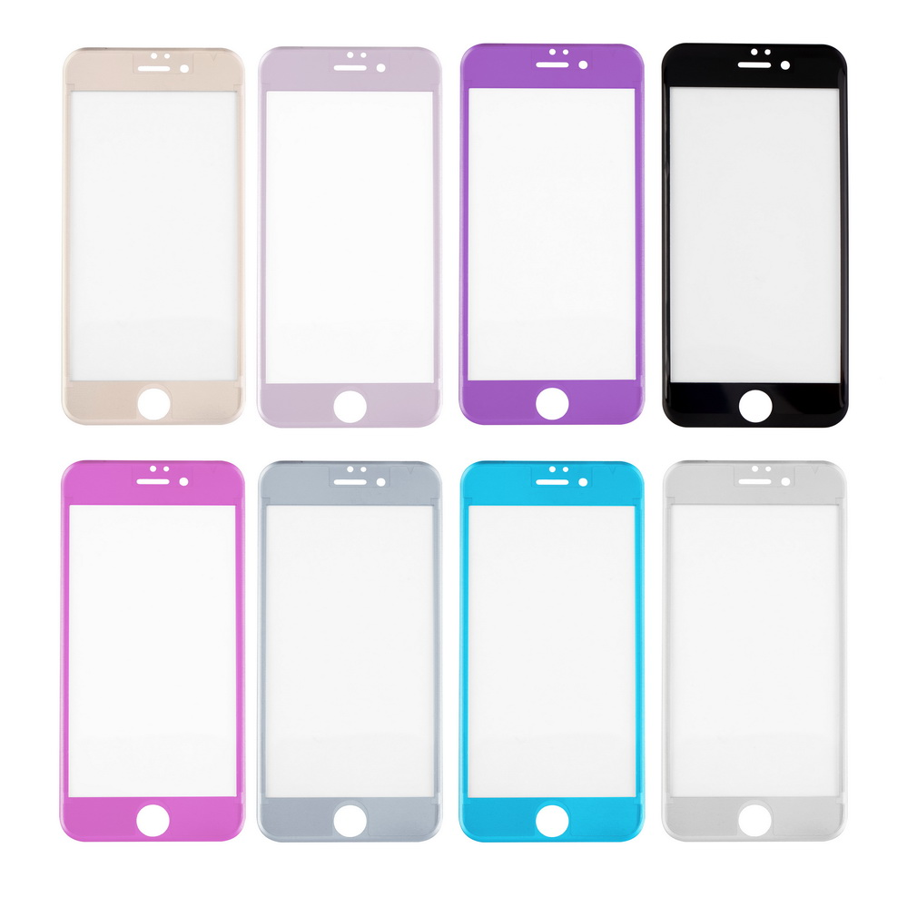 Full Cover Screen Protector Tempered Glass Strong Hardness Anti-Scratch Titanium Alloy 3D Front Film For IPhone 6