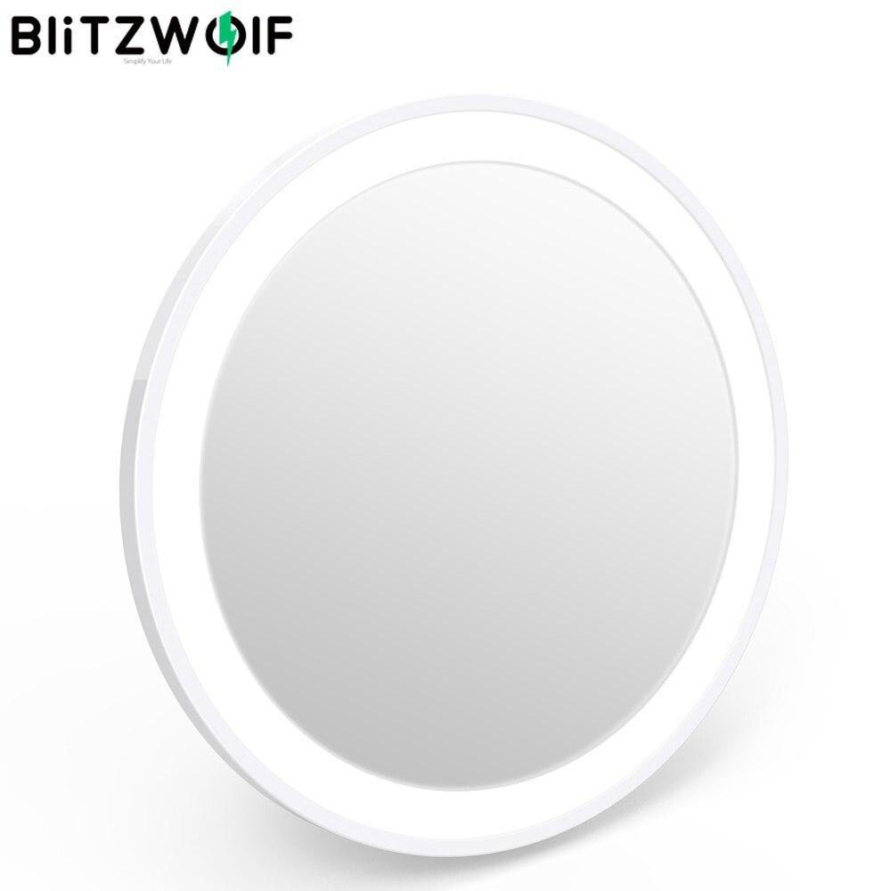Blitzwolf BW-LM1 5000-8000K LED Makeup Mirror Light Portable Mini USB Rechargeable LED Makeup Mirror Light One Button Control