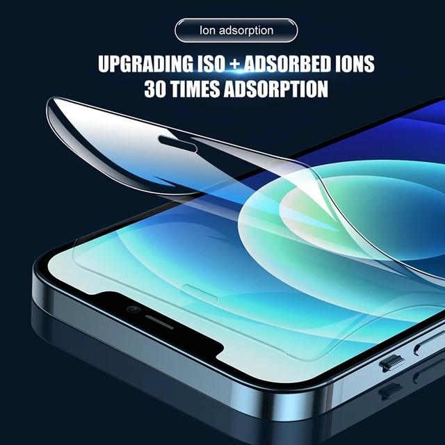 Full Cover Hydrogel Film For iPhone 7 8 Plus 6 6s Screen Protector 11 12 Pro mini XR X XS Max SE 2020 Back Soft Film Not Glass 3