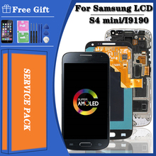 Display AMOLED Mini Samsung Galaxy I9192 Digitizer Frame Touch-Screen for S4 with LCD