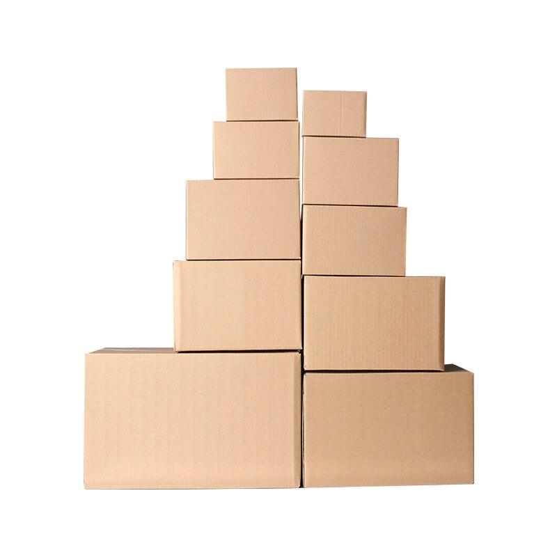 5 шт./лот 3 слойная плотная гофрированная бумага упаковка подарочная коробка заказной размер и логотип коричневый Пустой упаковочные принадлежности|Подарочные сумки и упаковка|   | АлиЭкспресс