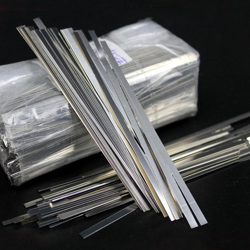 10pcs Pure Nickel Strip