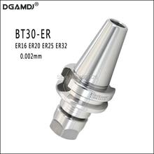 1pcs BT30 ER16 ER20 ER25 ER32 60L 70L Tool Holder Precision 0.002mm Spring Chuck Knife Handle CNC Machine Tool Spindle Milling
