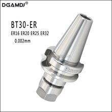 Porte outils de précision 0.002mm, poignée pour couteau à ressort, BT30, ER16, ER20, ER25, ER32, 60L, 70L, poignée CNC pour Machine outil