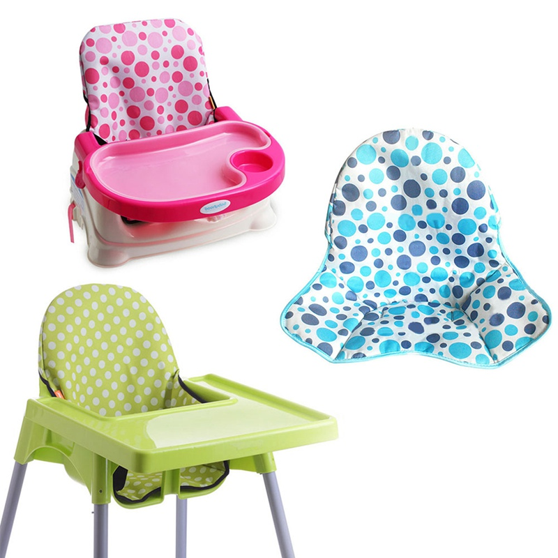 Crianças do bebê crianças alta cadeira de assento capa almofada reforço tapetes almofadas alimentação cadeira almofada dobrável à prova dwaterproof água
