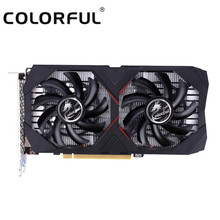 Colorful GeForce GTX 1650 4G Graphic Card GPU GDDR5 NVIDIA PCI-E3.0 Video Card DP + HDMI + DVI 128Bit 6Pin Graphics Card(China)