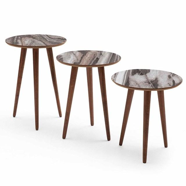 3 PCs Round Coffee Table  3