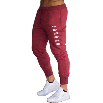 2020 New Men Joggers for Jordan 23 Casual Men Sweatpants Gray Joggers Homme Trousers Sporting Clothing Bodybuilding Pants K - XXXL, 1