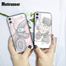 Motirunner Tatty Teddy Zachte Siliconen Case Voor Iphone 6 S 6 7 8 Plus X Xs Xr 11 Pro Max se2020 Telefoon Accessoires(China)