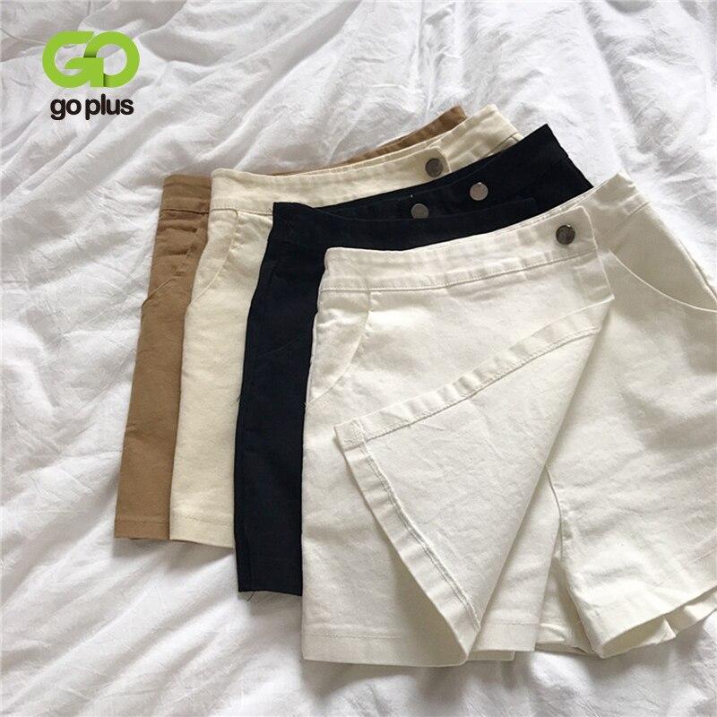 Summer Skirt Shorts Women's Casual High Waist Shorts Womens Plus Size Clothing For Women Spodenki Damskie Short Feminino