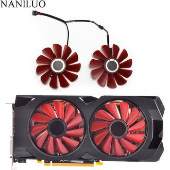 85MM FDC10U12S9-C 0.45AMP 4Pin Cooler Fan Replacement For XFX RX 560D RX 570 RX 580 RX Vega Graphics Video Card Cooling Fans collagen fit rx