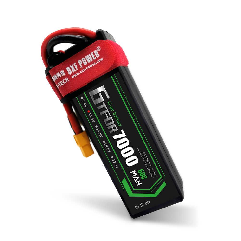 GTFDR 7000mAh 3S1P 11.1V 60C Hardcase LiPo batterie Dean/T XT90 EC5 XT150 XT60 prise pour 1/8 1/10 RC voiture tout-terrain buggy truggy