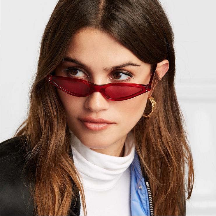 Small Cateye Sunglasses Women Vintage Gradient Glasses Retro Cat eye Leopard Black Red Sun glasses Female Eyewear UV400 in Women 39 s Sunglasses from Apparel Accessories