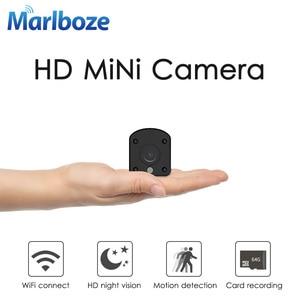 Image 1 - كاميرا Marlboze 1080P عالية الدقة تعمل بالواي فاي IP P2P رؤية ليلية مقطوعة في اتجاهين لمراقبة الطفل كاميرا مراقبة لاسلكية لمراقبة المنزل