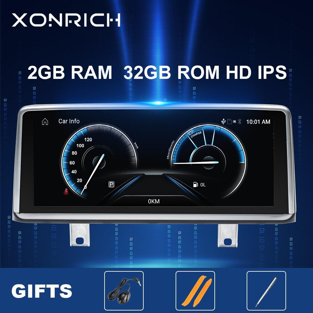 2GB IPS DSP z systemem Android 10 samochodów Radio odtwarzacz multimedialny dla BMW serii 3 4 F30 F31 F34 F32 F33 F36 radioodtwarzacz Stereo nawigacji GPS