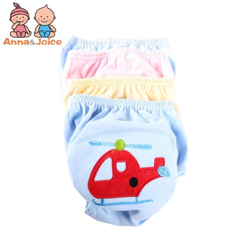 10pcs/Lot  Baby Training Pants/Child Cloth Study Pants/Reusable Diapers Nappy Cover/Washable Diapers Suit 12--15kg