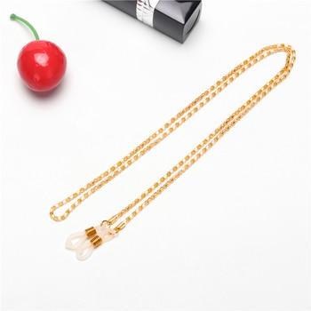 2019 metal cord for glasses strap Golden Fashion men women sunglasses chain #EC1102